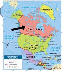 Resultat d'imatges de MAPA DE CANADA