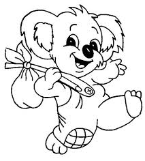 Small Picture The Adventure of Koala Bear Coloring Page Color Luna