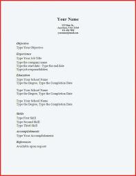 Simple Resume Sample Simple Format Of Resume Simple Format Resume