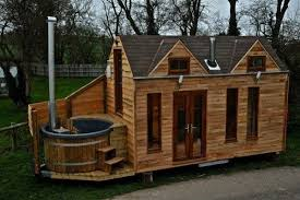 cost to build a tiny house. Man Designs \u0026 Builds Mobile Hot Tub Tiny House Cost To Build A L