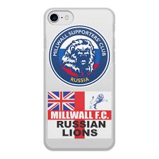 Чехол для iPhone 8, объёмная печать <b>Millwall MSC</b> Russia phone ...