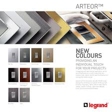 Legrand Lighting Automation Arteor Legrand Smart Home Design Home Automation Smart Home