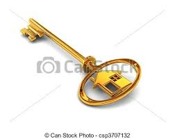 3d rendered creative of gold house key stock photo Search Pictures