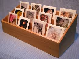 Wooden Greeting Card Display Stand Greeting Card Display Rack in Red Oak Convention booths 4