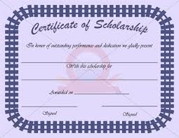 scholarship award certificate templates 502 best certificate template images on pinterest certificate