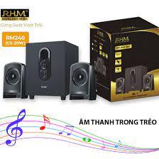 Loa vi tính rhm model rm 281bt - kết nối tivi, máy tính, điện thoại - có  bluetooth - công suất 60w - nghe nhạc cực hay - Sắp xếp theo liên quan sản  phẩm