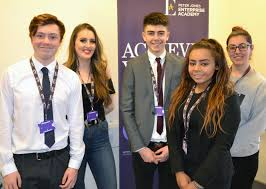 chesham gets first look at young entrepreneurs ideas for the local pjea students left to right sam judd 17 amersham frankie collins 17 chalfont st peter harry mccarthy 17 amersham rochelle cross 16 chesham