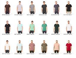 Bella Canvas Unisex Triblend Short Sleeve T Shirt 3413c