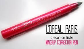 l oreal paris clean artiste makeup corrector pen review swatches