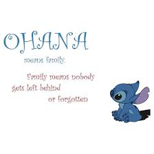 Ohana Means Family Quote Magnificent Ohana Means Family TShirts Hoodies By Krisbie48 Redbubble
