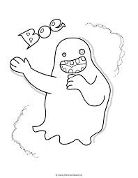 Spookje Ghost Kleuren Is Leuk