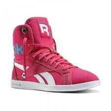 reebok high tops womens. reebok classic top down snaps women\u0027s canvas trainers hi high fold pink tops womens