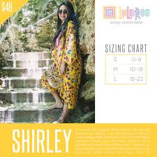 Shirley Size Chart Lularoe Oh I Love This Lularoe Shirely They Run A Little Big I