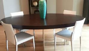 wooden contemporary circular furniture dining table pedestal and designs white for set extendable room enchanting light