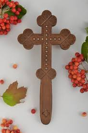 decorative crosses handmade wooden cross wall cross rustic home decor wall hanging religious gifts madeheart