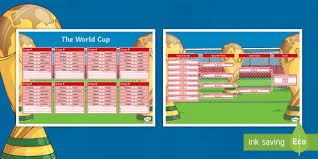World Cup Planner Chart 2018 World Cup Wall Chart Euro 2016 Football Tournament Wall