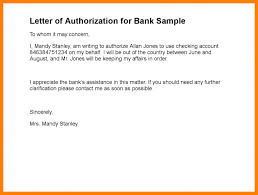 51 Authorization Letter Samples Templates Free Download