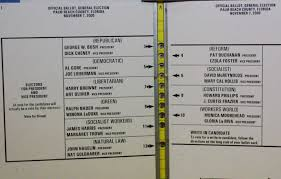 How To Make Ballots On Microsoft Word Florida Is The Florida Of Ballot Design Mistakes