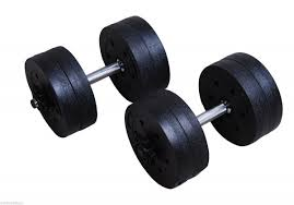 Weights Measures Chart Soozier 42lb Pair Dumbbells Set Training Biceps Exercise Fitness Free Weights Black
