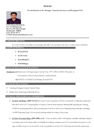 Sr Project Manager Resume Template Elegant Senior Project Manager