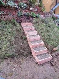 Neues haus sucht neue treppe: Diy Anleitung Fur Einfache Gartenstufen Garten Stufen Garten Gartentreppe