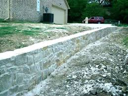 how to build concrete bag retaining wall concrete retaining wall costs stamped concrete retaining wall decorative
