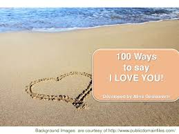 40 Ways To Say I LOVE YOU Part 40 Short Love Messages I Love You Inspiration A Hort Love Message