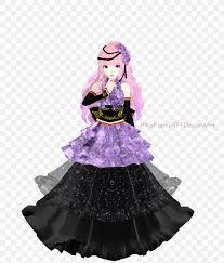Luka Design Megurine Luka Costume Vocaloid Gown Dress Png 824x969px