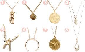 anthropologie delicate monogram necklace 6 bop gold crescent pedant necklace 7