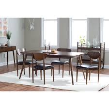 luxurious mid century modern furniture dining room chairs dining table in living room