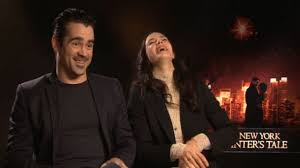 A New York Winter's Tale: Colin Farrell Jokes About Horses ...