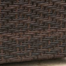 impressive wicker storage bench with wing outdoor wicker storage bench christopher knight home