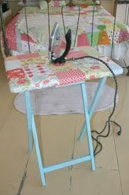Quilting With Mom : How to Make a Quilter's Ironing Board Table ... & Must try this for my small sewing room! -- QUILT BARN: Mini Ironing Adamdwight.com