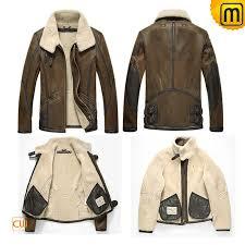 sheepskin er jacket men cw860209 jackets cwmalls com