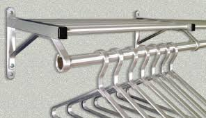 Hotel Coat Rack Glaro Satin Aluminum Wall Mounted Coat And Clothes Racks 18