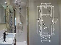 compact shower room but change the door to sliding pocket door