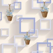 Small Picture 3d Modern Wallpapers Home Decor Brief Wall Paper Non Woven 4d