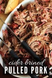 cider brined pulled pork hey grill hey