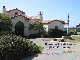 Image result for Sharp Park golf course Club house, Pacifica, CA picture