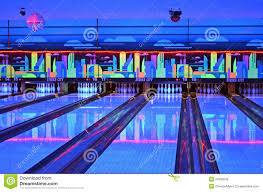 Light Bowling Lanes Editorial Photo Image Of Colors Blue Lights 21833046