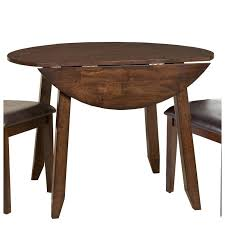 raisin 42 inch drop leaf round dining table kona rc willey furniture