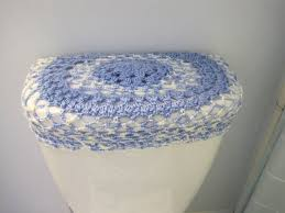toilet tank lid cover top shell pink crochet toilet tank lid cover or toilet seat cover robin egg blue rasp