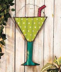 metal wall art decor for living room lovely beach themed metal wall art hanging tropical drink