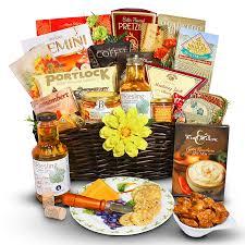 fall thanksgiving gift basket