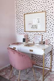 neutral office decor. Blogger Office, Neutral Blush Home Decor, Office Decor