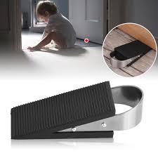 1pcs Rubber Door Stopper Wedge Block Guard Wind Dust Blocker Stopper