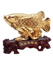 dealing feng shui: oyedeal feng shui arowana fish showpiece  cm
