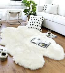 white sheepskin rug alternative views extra large white sheepskin rug white sheepskin rug