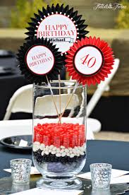 40th Birthday Decorations For Her 40th Birthday Table Decorations Ideas Decor Ideas