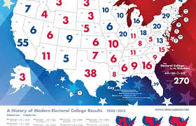 Electoral College Vote Chart Electoral College Holds The Power University News